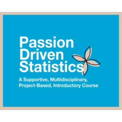 Passion-Driven Statistics E-book icon