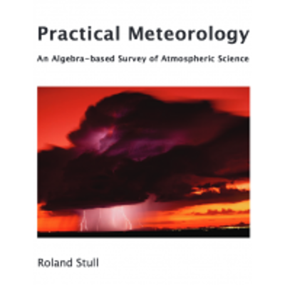 Practical Meteorology: An Algebra-based Survey of Atmospheric Science icon