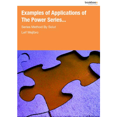 Examples of Applications of The Power Series... icon