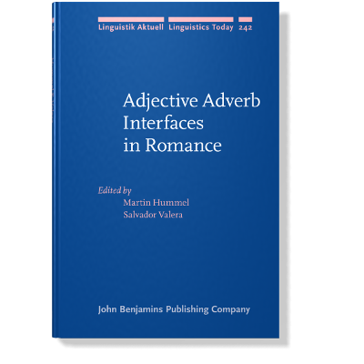 Adjective Adverb Interfaces in Romance icon