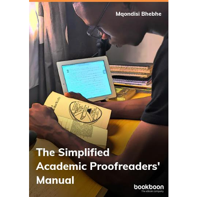The Simplified Academic Proofreader's Manual
