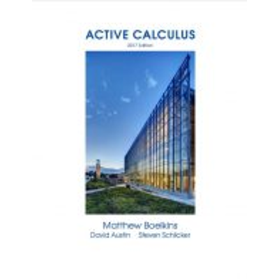 Active Calculus - 2017 edition icon