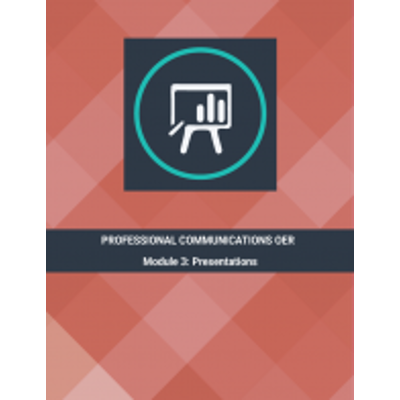 Professional Communications OER - Module 3: Presentations icon