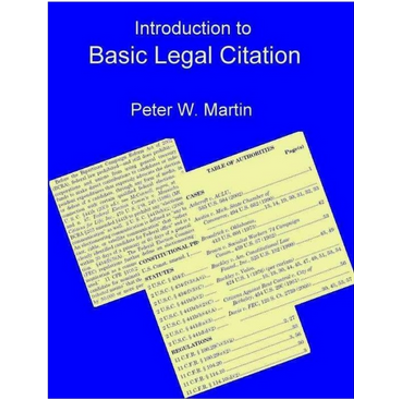 Introduction to Basic Legal Citation icon
