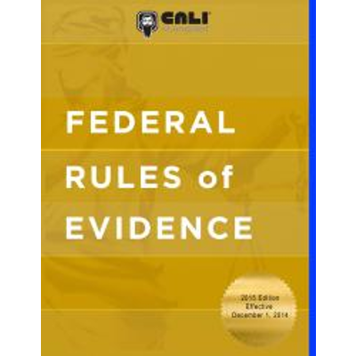 Federal Rules of Evidence icon