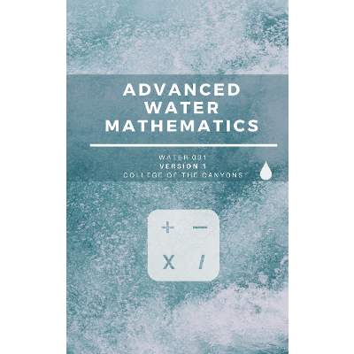 Advanced Waterworks Mathematics - Open Textbook Library icon