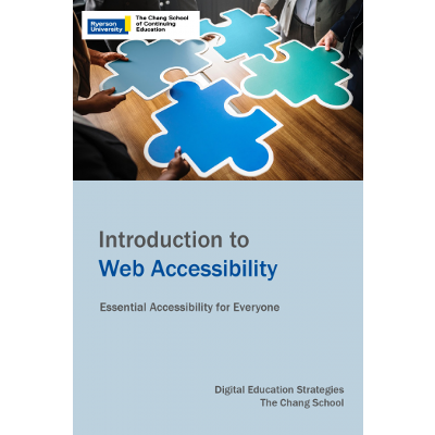 Introduction to Web Accessibility - Open Textbook icon