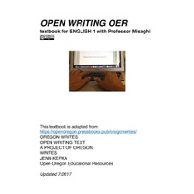 OPEN WRITING OER : Angelina Misaghi icon
