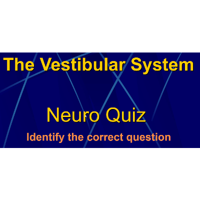 The Vestibular System Quiz Game icon