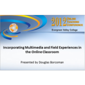 2012 Online Teaching Conference icon