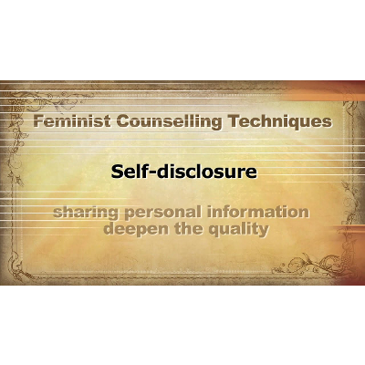 Introduction to Feminist Counseling