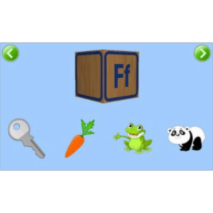 Kids ABC Phonics Lite App for Android icon