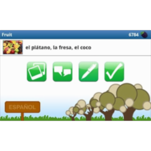 Learn Spanish with busuu.com! App for Android icon