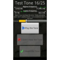 Test Your Hearing App for Android icon