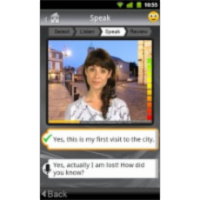 SpeakingPal English Tutor App for Android icon