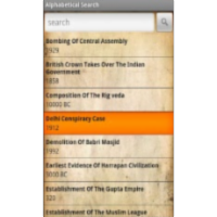 History of India App for Android