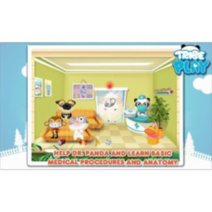 Dr Panda's Hospital - Vet Game App for Android icon