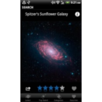 Space Images App for Android icon