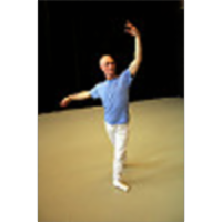 Image of a man in a ballet pose