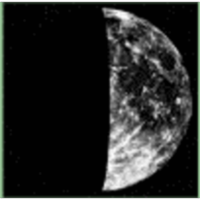 Phase of moon (Astronomy) icon