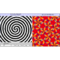 Optical Illusion Counter-Rotating Spirals (Human Perception) icon