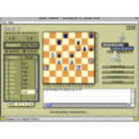 Chess--Big Blue vs Kasparov game 3 icon