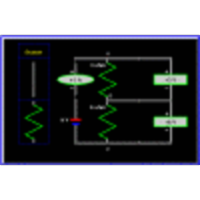 Two Resistor Circuit (Electronics, Physics) icon