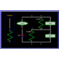 Four Resistor Circuit (Electronics, Physics) icon