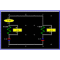 Kirchhoff's Rules, Circuit 1 (Electronics, Physics) icon