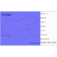 "Base Map of Tirol using ""ThematicView"" icon"