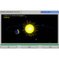 The Earth and The Sun (3D) icon