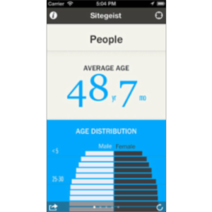 Sitegeist App for iOS icon