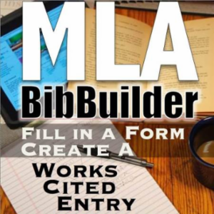 MLA-Style Bibliography Builider