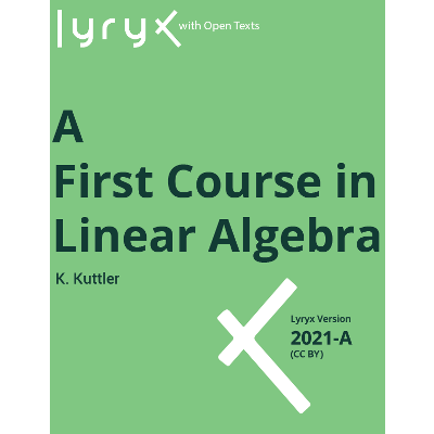 A First Course in Linear Algebra icon