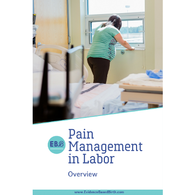 Pain Management during Labor - Evidence Based Birth® icon