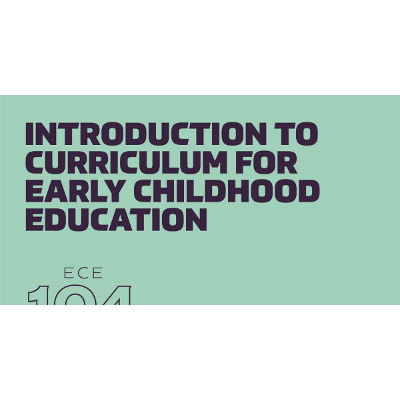 Introduction to Curriculum for Early Childhood Education icon