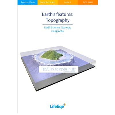 Earth's features - Topography icon