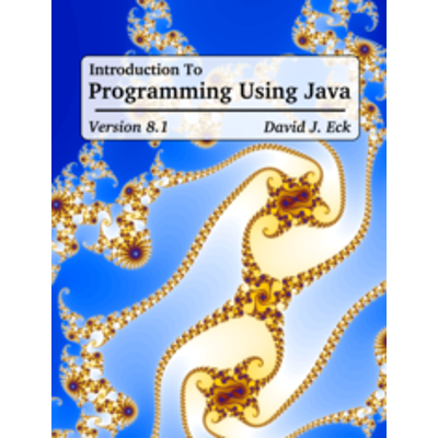 Introduction to Programming using Java, Version 8