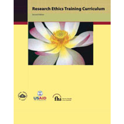 Research Ethics Training Curriculum (RETC), Second Edition