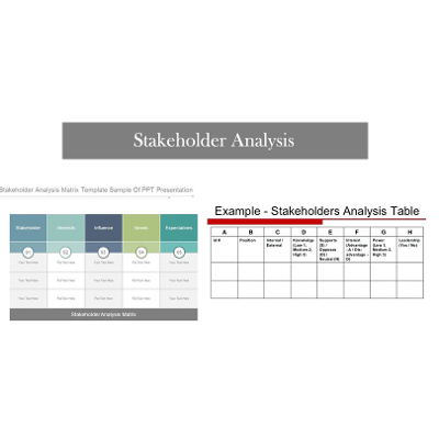 How to Create Stakeholder Analysis Template in Excel? icon