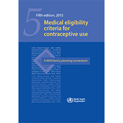 Medical eligibility criteria for contraceptive use icon
