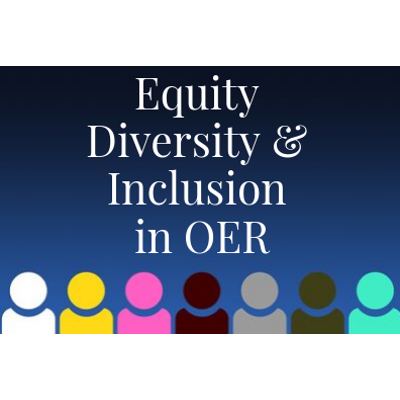 Equity, Diversity, and Inclusion in OER icon