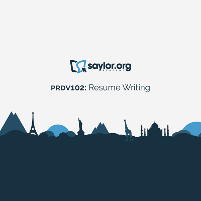 PRDV102: Resume Writing | Saylor Academy icon