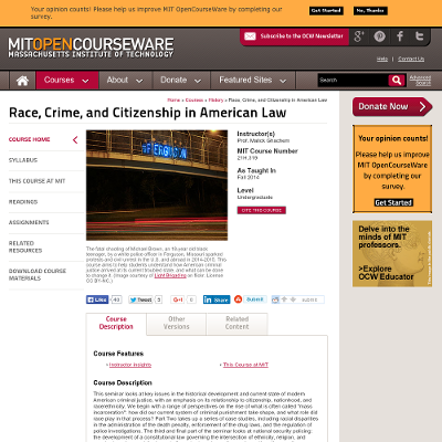 Race, Crime, and Citizenship in American Law