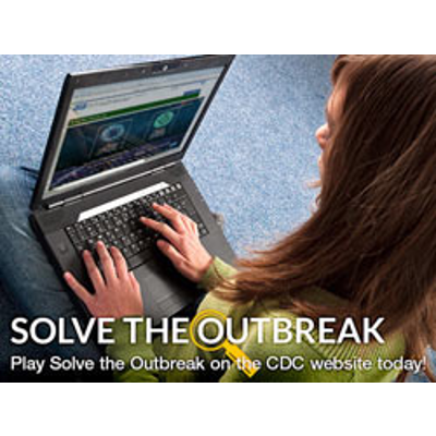 Solve the Outbreak | Mobile Activities | CDC icon