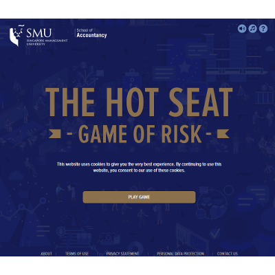 Hot Seat Risk Management Game icon