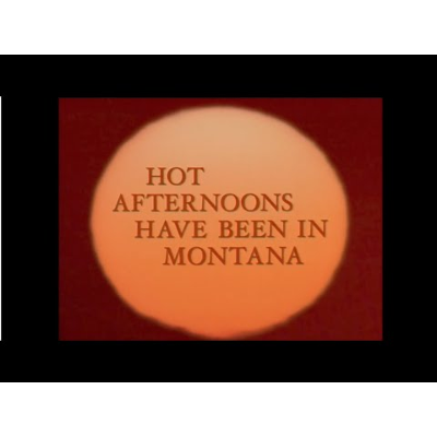 """Hot Afternoons Have Been in Montana"" by Eli Siegel icon"