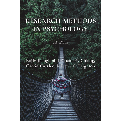 Research Methods in Psychology - 4th American Edition - Open Textbook Library
