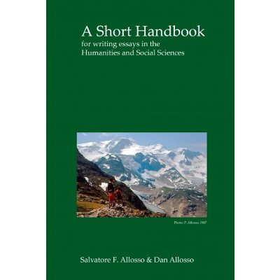 A Short Handbook for writing essays in the Humanities and Social Sciences icon