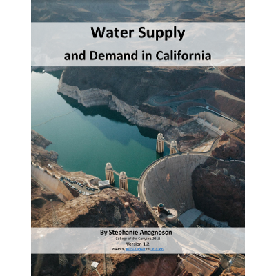 Water 032 - Water Supply and Demand in California icon